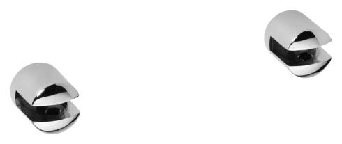 Omega 104502112 ХромАксессуары для ванной<br>Держатель для полочки Bemeta Omega 104502112 запасной (пара). Материал держателя латунь. Монтаж подвесной. Метод крепления шурупы. Ширина 2 см. Высота 2 см. Глубина 2 см. Цвет хром. Фактура глянцевая.<br>