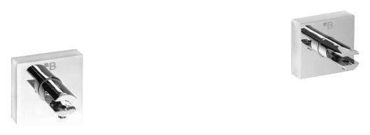 Beta 132102112 ХромАксессуары для ванной<br>Держатель для полочки Bemeta Beta 132102112 запасной (пара). Материал держателя латунь. Монтаж подвесной. Метод крепления шурупы. Ширина 5,5 см. Высота 5,5 см. Глубина 4 см. Цвет хром. Фактура глянцевая.<br>