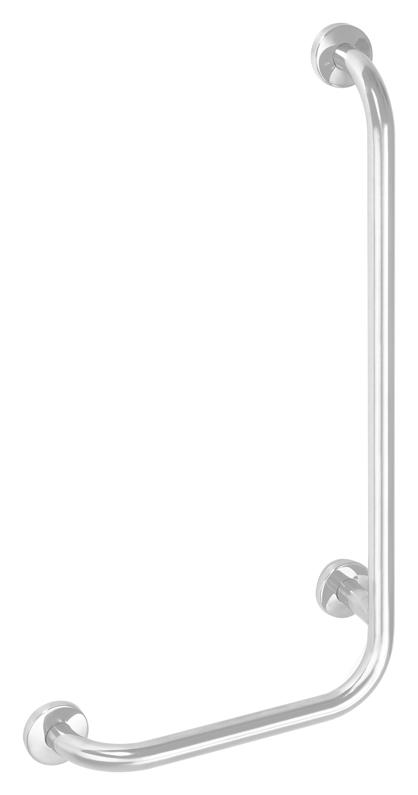 Help 301112064 БелыйАксессуары для ванной<br>Поручень для ванны Bemeta Help 301112064 настенный. Материал нержавеющая сталь. Монтаж подвесной. Ширина 62,8 см. Высота 67,8 см. Глубина 11 см. Цвет белый. Фактура матовая. В поставку входят болты из нержавеющей стали с пластмассовыми дюбелями для монтажа в полнотелом кирпиче и бетоне. Для других стен необходимо выбрать крепёжные элементы, соответствующие нагрузке. Для людей с ограниченными физическими возможностями.<br>