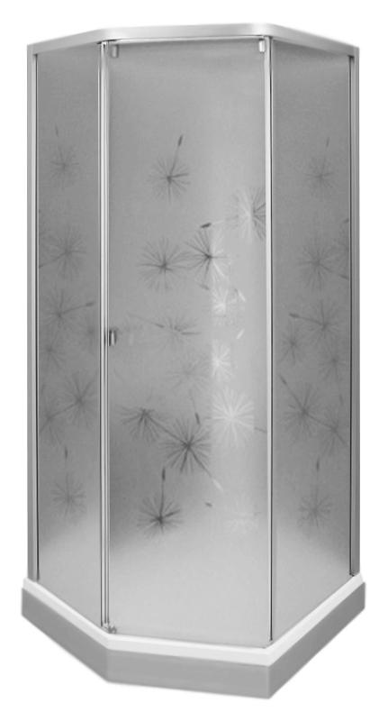 Showerama 8-5 90 4985018909 профиль и панель поддона серебристые, передние стекла художественные, задние прозрачныеДушевые кабины<br>Душевая кабина Ido Showerama 8-5 90 4985018909 без крыши. Безопасное закаленное стекло толщиной 5 мм на стенках и 6 мм на дверце. Матовый серебристый профиль из анодированного алюминия. Белый поддон из экологического искусственного мрамора с серебристой фронтальной панелью. Поддон оснащен ножками на роликах, поэтому кабину легко перемещать, и одной опорной ножкой без ролика с регулировкой высоты. Термостат фирмы Oras и дверная ручка выполнены в одном стиле. Встроенные полочки. Дверь легко и плавно отодвигается в сторону и надежно закрывается, благодаря магнитным уплотнителям. Стильная дренажная система легко чистится. По желанию к кабине можно приобрести крышу. Цена указана за белую душевую панель с серебристой стойкой (4985018001), передние стенки с дверью (4985015992), задние стенки (4985012991), душевой поддон (4988001909). Все остальное приобретается дополнительно.<br>