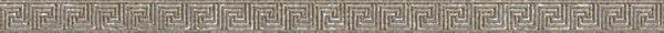 Керамический бордюр Керамин Эллада 7 2,5х50 см керамический бордюр керамин пастораль 7 карандаш 2х27 5 см