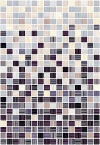 Керамическая плитка Керамин Гламур 4С черный микс настенная 00-00001798 27,5х40