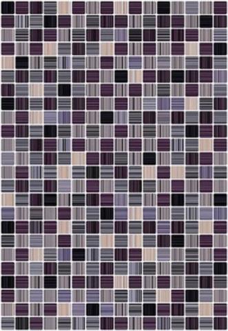 цена Керамическая плитка Керамин Гламур 4Т черный настенная 00-00001800 27,5х40 см онлайн в 2017 году