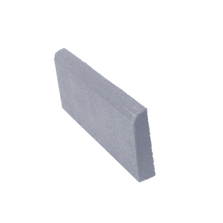 Резиновая плитка ST Бордюр серый 500x250х40 мм стоимость