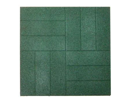 цена на Резиновая плитка ST Плитка Брусчатка 40 мм 500x500х40 мм