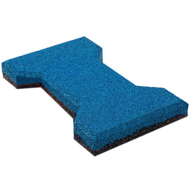 Резиновая плитка ST Катушка 20 мм синяя - фото