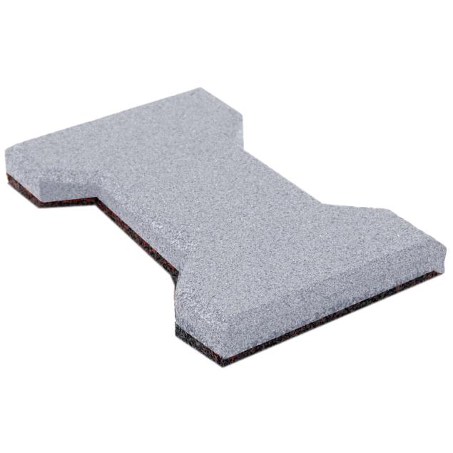 Резиновая плитка ST Катушка 20 мм серая - фото