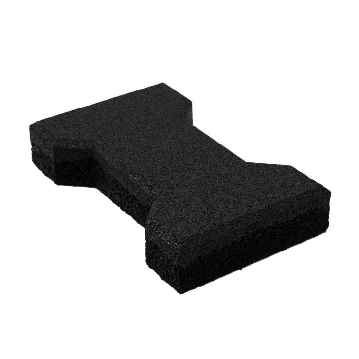 Резиновая плитка ST Катушка 40 мм черная - фото