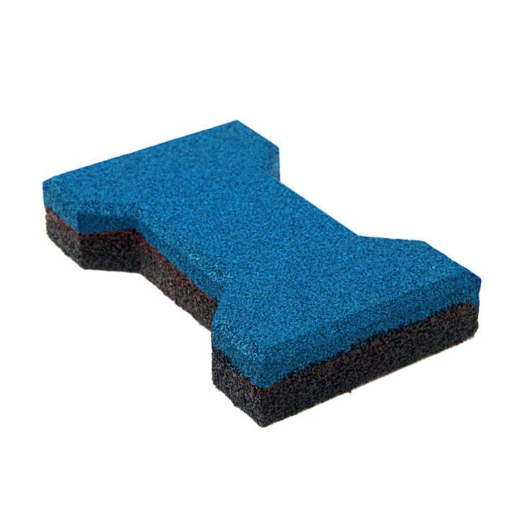 Резиновая плитка ST Катушка 40 мм синяя - фото