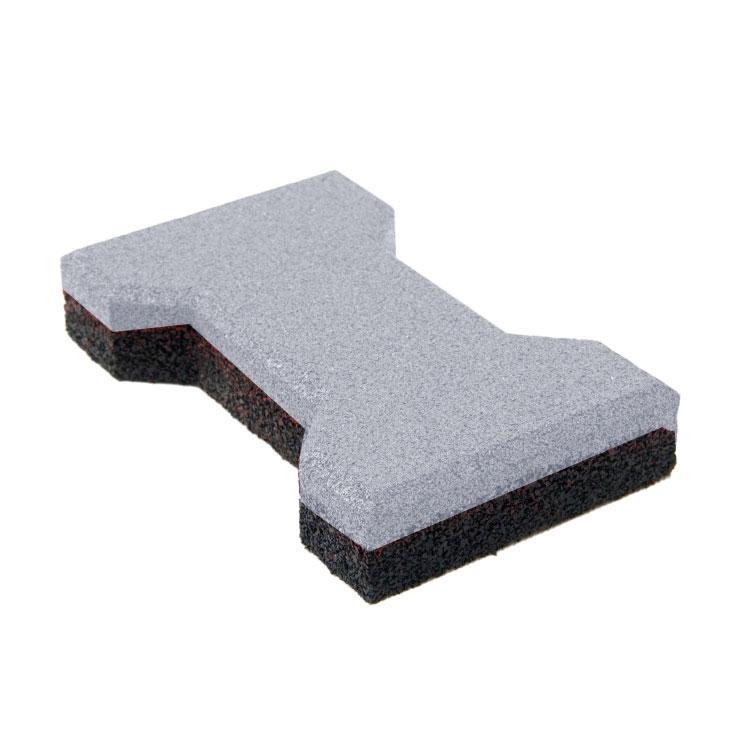 Резиновая плитка ST Катушка 40 мм серая - фото