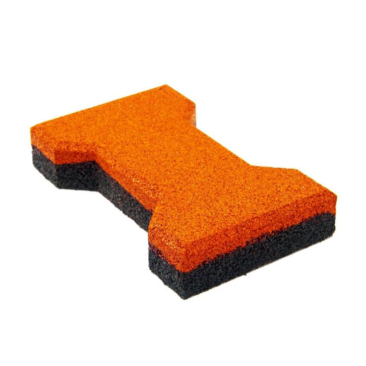 Резиновая плитка ST Катушка 40 мм оранжевая - фото