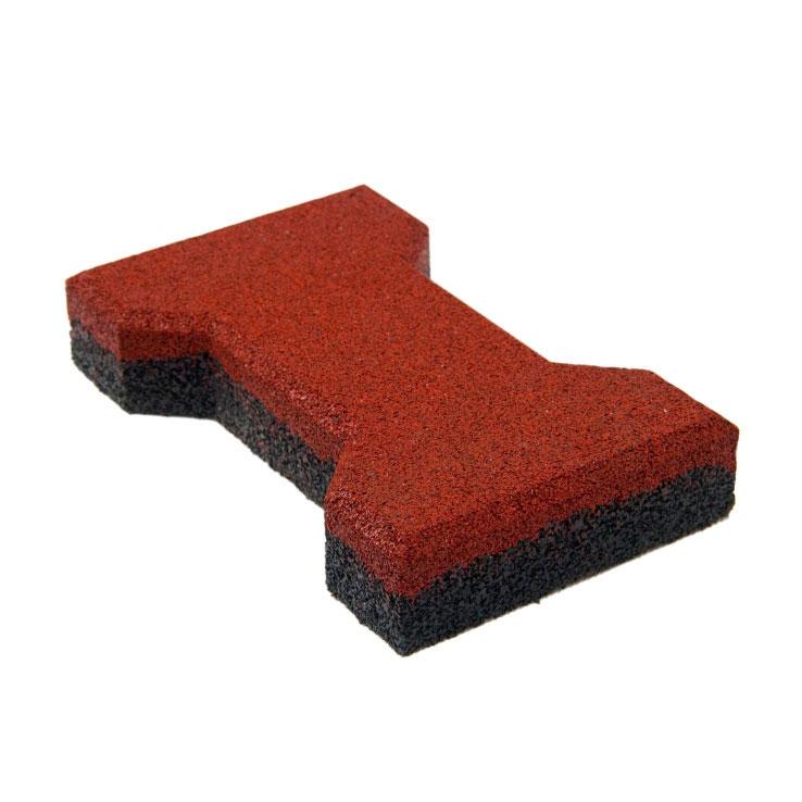 Резиновая плитка ST Катушка 40 мм красная - фото