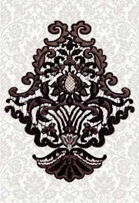 Керамическая плитка Керамин Органза 5 Декор 27,5х40