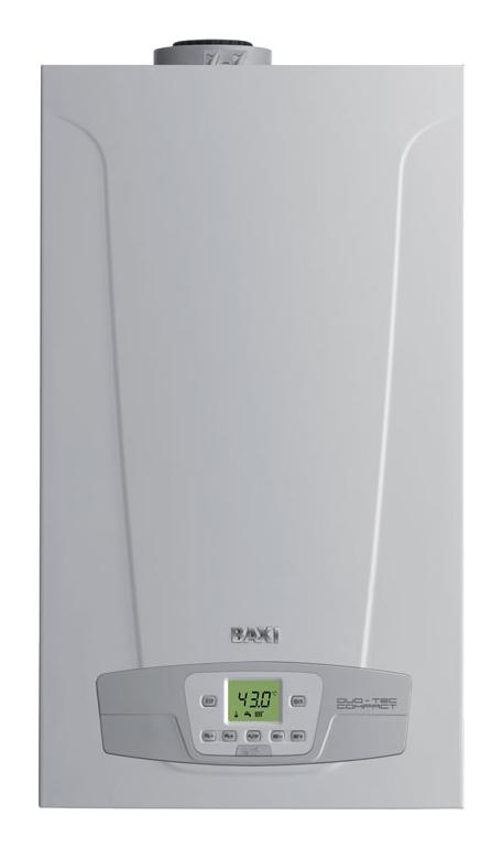 Котел Baxi Duo-tec Compact 1.24 GA Белый baxi luna duo tec mp 1 60