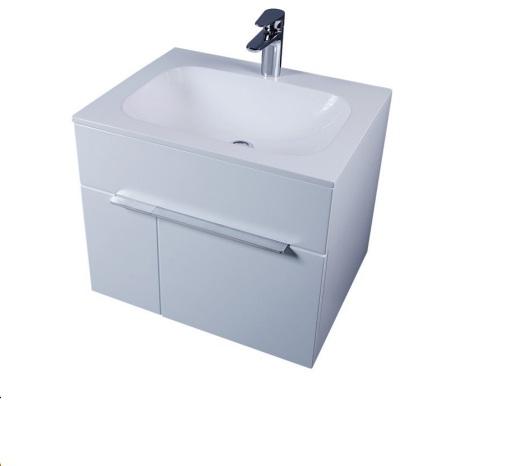 Inspire M50FHX0601WG 60 смМебель для ванной<br>Тумба под раковину AM PM Inspire M50FHX0601W подвесная, в современном стиле, двери с доводчиками. Ширина 60см, цвет исполнения - белый глянец. Дополнительно вы можете приобрести раковину, зеркало или зеркало-шкаф, а также пенал.<br>
