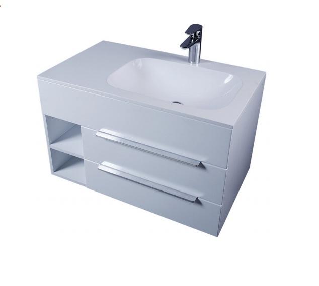 Inspire 80 M50FHX0802WG 80 смМебель для ванной<br>Подвесная тумба под раковину AM PM Inspire M50FHX0802W. Для удобства использования модель оснащена просторными выдвижными ящиками с доводчиками, а также функциональными боковыми полочками. Цвет исполнения – белый. В цену включена только тумба, раковина и все остальное приобретается дополнительно.<br>