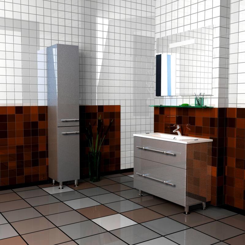 Style 80 Box на ножках Категория 1Мебель для ванной<br>Мебель для ванной комнаты Harizma Style 80 Box. В стоимость входит тумба с раковиной. Раковина выполнена из литьевого мрамора, фасады - влагостойкий МДФ ламинированный пленкой ПВХ, фурнитура - tandembox Blum с встроенной системой мягкого закрывания.<br>