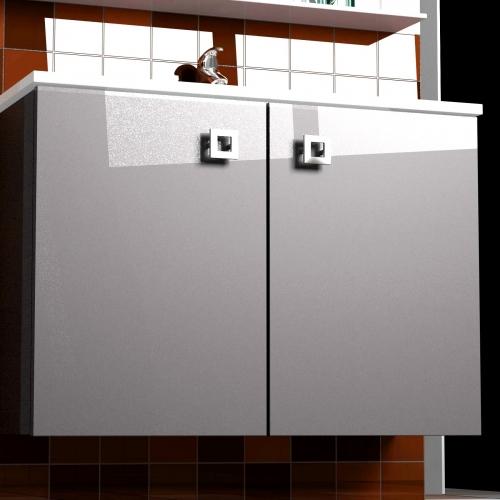 Style 80 Classic Lite подвесная Категория 2Мебель для ванной<br>Мебель для ванной комнаты Harizma Style 80 Classic Lite. В стоимость входит тумба с раковиной. Раковина выполнена из литьевого мрамора, фасады - влагостойкий МДФ ламинированный пленкой ПВХ, фурнитура - tandembox Blum с встроенной системой мягкого закрывания.<br>