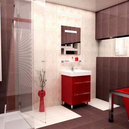 Ceramics 60 Box на ножках Категория 1Мебель для ванной<br>Мебель для ванной комнаты Harizma Ceramics 60 Box. В стоимость входит тумба с раковиной. Раковина выполнена из сантехнической керамики, фасады - влагостойкий МДФ ламинированный пленкой ПВХ, фурнитура - tandembox Blum или Jet встроенной системой мягкого закрывания.<br>