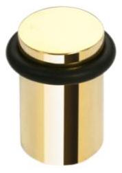 Hotel 101218017 ЗолотоАксессуары для ванной<br>Держатель дверной Bemeta Hotel 101218017. Упор напольный. Изготовлен из высококачественной латуни. Цвет золото. Высота 3 см. Диаметр 2,5 см.<br>