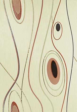 Керамическое панно Керамин Сакура 3 Геометрия 27,5х40 см