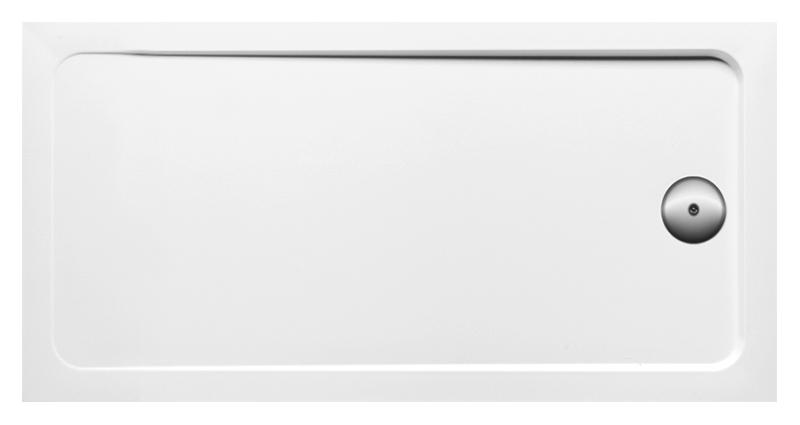Flight 140x80 E62453-F-00 белыйДушевые поддоны<br>Напольный или встраиваемый душевой поддон Jacob Delafon Flight 140x80 E62453-F-00 прямоугольный, высотой 40 мм, изготовлен из прочного искусственного материала, покрытого слоем акрила. Антибактериальная технология с ионами серебра вживляется в продукт на стадии производства. Антискользящее покрытие, класса C, в соответствии со стандартом DIN 51097. Диаметр сливного отверстия 90 мм.<br>