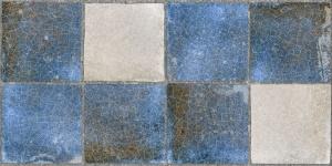 Керамическая плитка Нефрит Керамика Лофт Синяя настенная 20х40 см цена