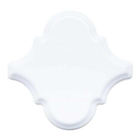Керамическая плитка Adex Renaissance Arabesco Biselado Snow Cap настенная 15х15 см стоимость