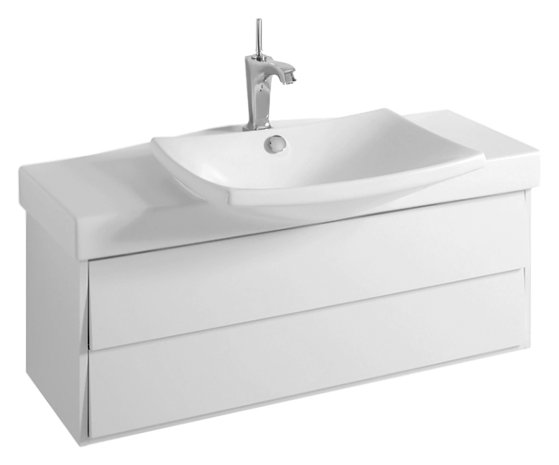 Escale 100 EB760-G1C белая глянцеваяМебель для ванной<br>Подвесная тумба под раковину Jacob Delafon Escale 100 EB760-G1C с двумя выдвижными ящиками на механизме доводчика, с мягким и тихим ходом, с двумя органайзерами из пеноматериала. Тумба из современной и утонченной коллекции Escale подойдёт для большинства современных интерьеров. Глянцевая отделка полиуретановым лаком высокого качества, характеризуется высокой устойчивостью к выцветанию. Лакированная поверхность предполагает проявление осторожности, во избежание механических повреждений, особенно в уборке. В комплекте поставки только тумба.<br>
