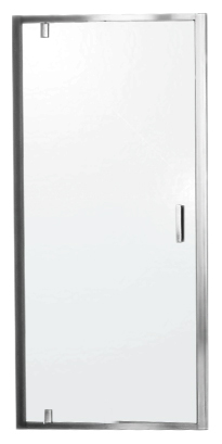 Душевая дверь Jacob Delafon Vertigo 75 E20P75-GA профиль хром, стекло прозрачное E20P75-GA/E21P75-GA