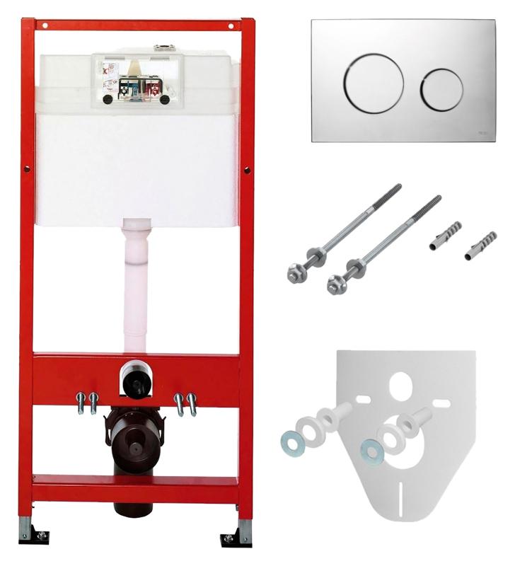 Монтажная рама Tece Base kit К400626 рама со смывным бачком и кнопкой смыва К 400 626