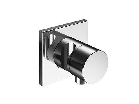 Ixmo 59548 010202 ХромСмесители<br>Внешняя часть переключателя Keuco Ixmo 59548 010202. На 3 потребителя, со шланговым подключением и держателем. Наружный комплект состоит из: рычага, гильзы, розетки (квадратной) и вентиля-переключателя, с обратным клапаном. В комплект поставки входит внешняя часть переключателя.<br>