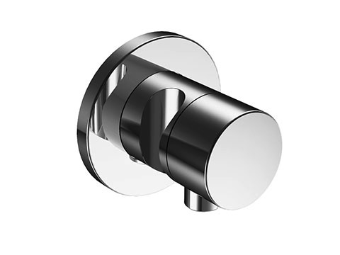 Ixmo 59556 010201 ХромСмесители<br>Внешняя часть переключателя Keuco Ixmo 59556 010201. На 2 потребителя, со шланговым подключением и держателем. Наружный комплект состоит из: рукоятки, гильзы, розетки (круглой) и вентиля-переключателя, с обратным клапаном. В комплект поставки входит внешняя часть переключателя.<br>