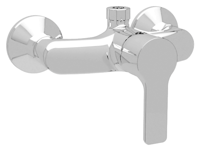 Dolce DOLCE-D-CAE-01 хромСмесители<br>Настенный смеситель для душа Cezares Dolce DOLCE-D-CAE-01 однорычажный, изготовлен из качественной латуни. Подключение шланга сверху. Металлическая рукоятка. Качественный керамический картридж Sedal, Испания. Стандарт подключения G1/2. В комплекте поставки: смеситель и комплект крепления.<br>