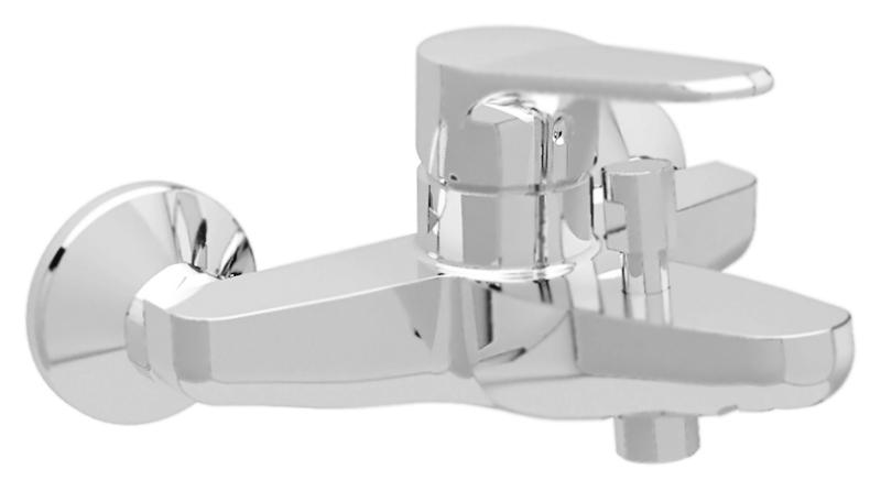 Peonia PEONIA-VM-01 хромСмесители<br>Настенный смеситель для ванны Cezares Peonia PEONIA-VM-01 однорычажный, изготовлен из качественной латуни. Фиксированный излив длиной 157 мм. Металлическая рукоятка. Качественный керамический картридж Sedal, Испания. Переключатель ванна/душ. Стандарт подключения G1/2. В комплекте поставки: смеситель и комплект крепления.<br>