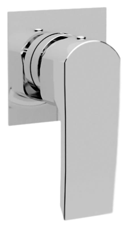 Lillia LILLIA-DIM-01-Cr ХромСмесители<br>Встраиваемый смеситель для душа Cezares Lillia LILLIA-DIM-01-Cr однорычажный, изготовлен из качественной латуни. Металлическая рукоятка. Качественный керамический картридж Sedal, Испания. Стандарт подключения G1/2. В комплекте поставки: внешняя и внутренняя части смесителя и комплект крепления.<br>