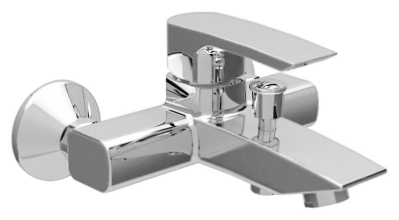 Lillia LILLIA-VM-01-Cr ХромСмесители<br>Настенный смеситель для ванны Cezares Lillia LILLIA-VM-01-Cr однорычажный, изготовлен из качественной латуни. Фиксированный излив длиной 176 мм. Металлическая рукоятка. Качественный керамический картридж Sedal, Испания. Переключатель ванна/душ. Стандарт подключения G1/2. В комплекте поставки: смеситель и комплект крепления.<br>