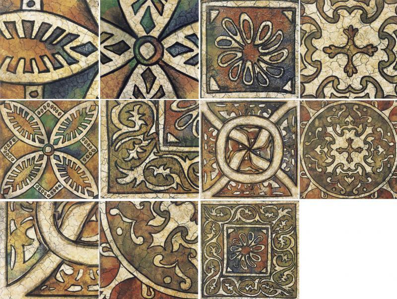 Керамическая плитка Mainzu Bolonia Decor Medievo настенная 20х20