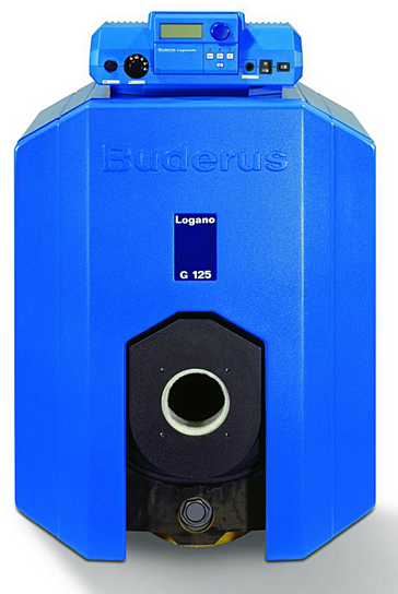 Котел Buderus Logano G125-40 WS Серый котел buderus logano g125 25 se синий