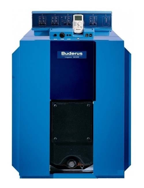 Котел Buderus Logano GE315-230 Синий котел на твердом топливе кчм 5 6 секций 50 квт