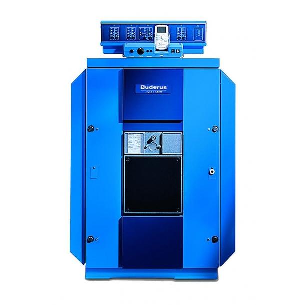 Котел Buderus Logano GE515-455 Синий котел на твердом топливе кчм 5 6 секций 50 квт