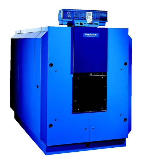 Котел Buderus Logano GE615-660 Синий котел на твердом топливе кчм 5 6 секций 50 квт