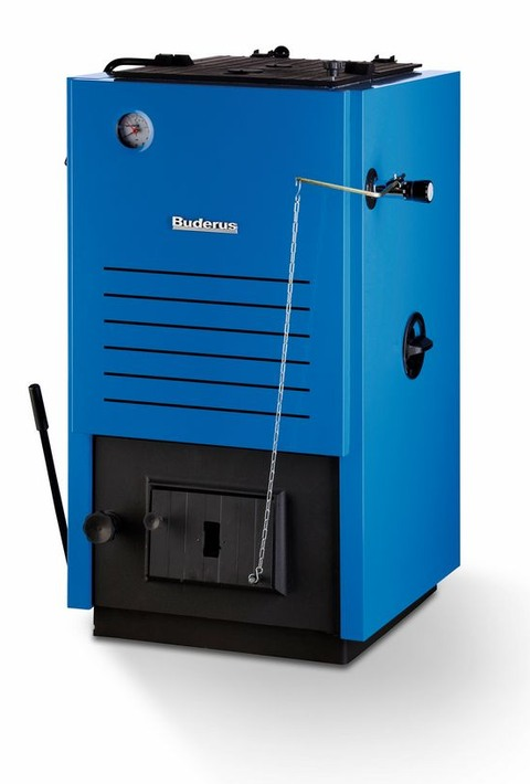 Котел Buderus Logano S111-2 16 Синий котел на твердом топливе кчм 5 6 секций 50 квт