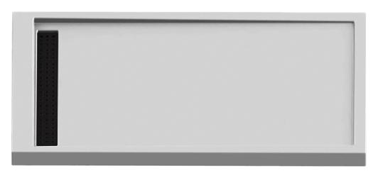 Alter Silver 140x80 B-0268 белыйДушевые поддоны<br>Интегрированный душевой поддон New Trendy Alter Silver 140x80 B-0268 прямоугольный, из качественного акрила с сеткой-ловушкой и сифоном. Основание поддона пол. Высокая прочность на нагрузку. Диаметр сливного отверстия 52 мм. Безопасный и комфортный в использовании. Цена указана за поддон, сифон и сетку. Все остальное приобретается дополнительно.<br>