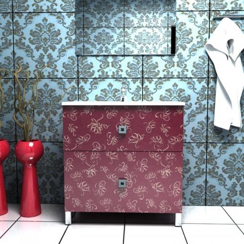 Ceramics 75 Box на ножках Категория 1Мебель для ванной<br>Мебель для ванной комнаты Harizma Ceramics 75 Box. В стоимость входит тумба с раковиной. Раковина выполнена из сантехнической керамики, фасады - влагостойкий МДФ ламинированный пленкой ПВХ, фурнитура - tandembox Blum или Jet встроенной системой мягкого закрывания.<br>