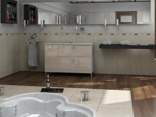Ceramics 100 Multi 2 на ножках Категория 2Мебель для ванной<br>Мебель для ванной комнаты Harizma Ceramics 100 Multi 2. В стоимость входит тумба с раковиной. Раковина выполнена из сантехнической керамики, фасады - влагостойкий МДФ ламинированный пленкой ПВХ, фурнитура - tandembox Blum или Jet встроенной системой мягкого закрывания.<br>