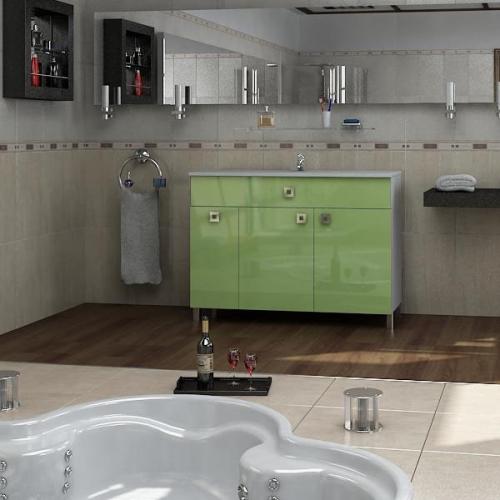 Ceramics 100 Multi 3 на ножках Категория 2Мебель для ванной<br>Мебель для ванной комнаты Harizma Ceramics 100 Multi 3. В стоимость входит тумба с раковиной. Раковина выполнена из сантехнической керамики, фасады - влагостойкий МДФ ламинированный пленкой ПВХ, фурнитура - tandembox Blum или Jet встроенной системой мягкого закрывания.<br>
