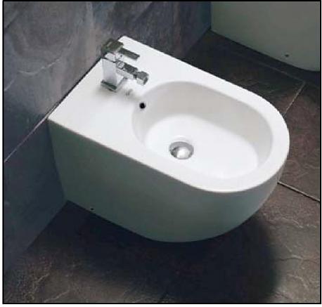 DT 9010 БелоеБиде<br>Основные характеристики биде Oxo DT 9010: напольное, ширина: 350 мм, длина: 570 мм.<br>