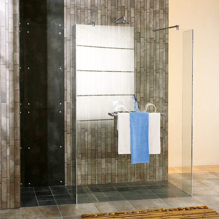 Trio Standart 1600Душевые ограждения<br>Высота до 2000 мм, ширина длинной стенки 1251-1600 мм. Ширина коротких стенок 200-600 мм.<br>