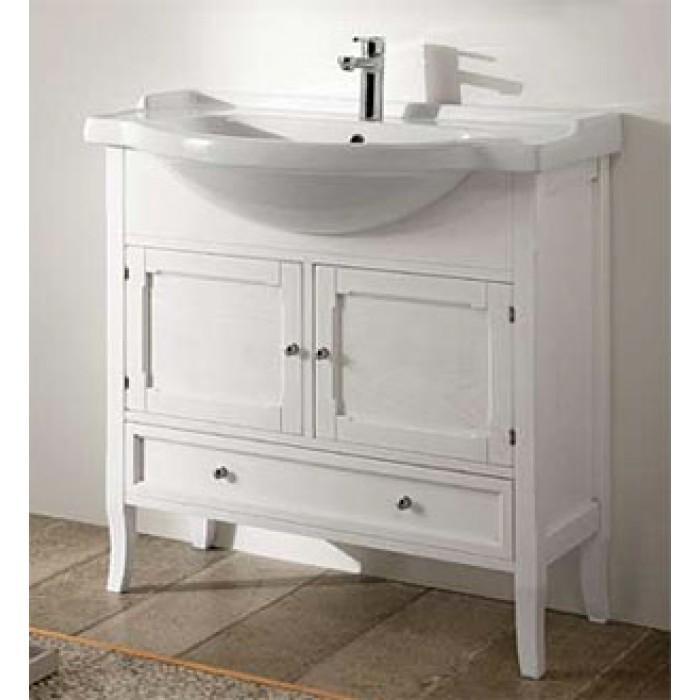Arianna 85 bianco decapeМебель для ванной<br>Тумба под раковину Eban Arianna 85, цвет белый. Ощущение мягкости, которое излучает мебель Eban, и неповторимый узор прожилок обеспечиваются благодаря обработке дерева, сохраняющей открытые поры.Такая отделка подчеркивает самые естественные характеристики дерева и его натуральность. Цена указана за тумбу. Все остальное приобретается дополнительно.<br>